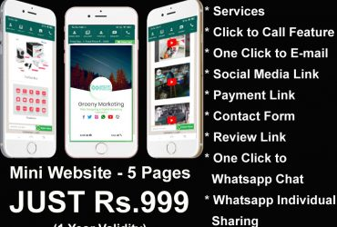 Greeeny Marketing – Digital Visiting Card – Digital Business Card Company  in Ariyalur